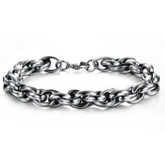 Fashion Punk Style 316L Stainless Steel Special Biker Chain Bracelet Polished Chic Fine Jewelry For Men