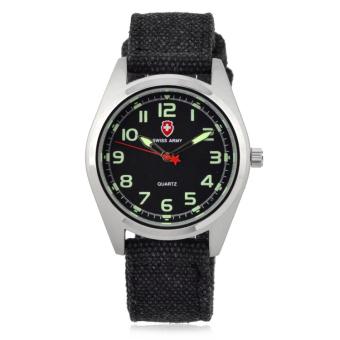 Fashion Sports Watch Textile Canvas Belt Watch