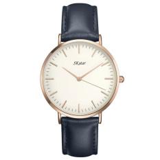 Fashion Wristwatches Men Women Rose Gold Silver Watch Fashion Quartz-Clock Watch Rose Gold Silver Watch Montre Femme - Intl