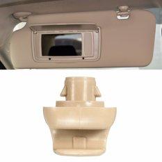 For Honda Sunvisor Clip Light Gray Color Sun Visor Clip Beige