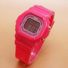 Fortuner Digital FR9029SC - Jam Tangan Sport Wanita - Rubber Strap - Digital Watch Mode