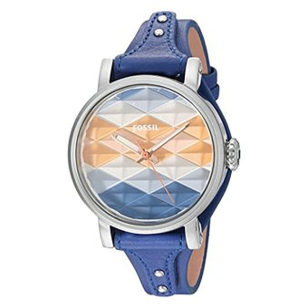 Fossil ES4004 - Original Boyfriend Sport Indigo-Dyed Leather Watch