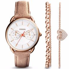 Daftar Harga Produk Champagne Katalog Harga 2017 Source · Fossil Tailor Multifunction Light Brown Leather Watch
