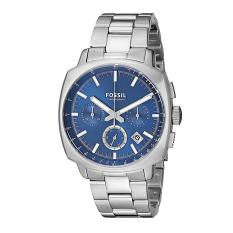 Fossil Watch Haywood Silver Stainless-Steel Case Stainless-Steel Bracelet Mens NWT + Warranty CH2983