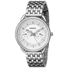 Fossil Watch Silver Stainless-Steel Case Stainless-Steel Bracelet Ladies NWT + Warranty ES3712