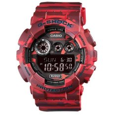 G-SHOCK Camo Digital DG629 Jam Tangan Pria Strap Rubber Merah Army