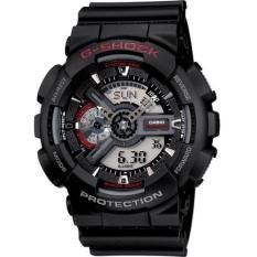 G-Shock Casio Jam Tangan Pria - Strap Resin - Hitam - GA-110 (Black)