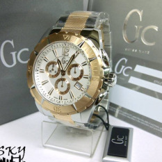 Gc Guess Collection Original Swiss Made X53002G1S (Silver + Rosegold)