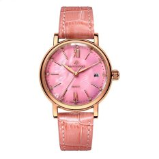 goplm Polaroid long watch Girls simple fashion genuine waterproof quartz sapphire steel strap watch (Pink) - intl