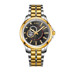 Goplm Treasure Shuttle Mechanical Watch Sports Men Automatic Hollow Mechanical Watches With Independent Small Seconds Are Waterproof Men Watch