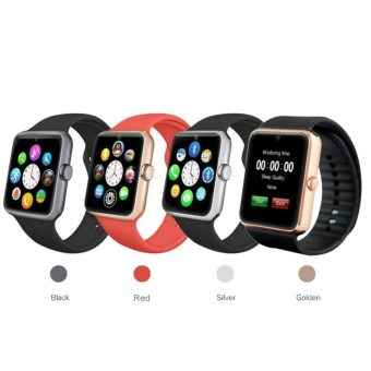 GT08 Bluetooth Smart Wrist Watch GSM Phones For Android Samsung Apple iOS iPhone - intl