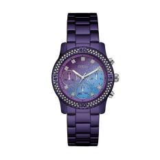 Guess - Jam Tangan Wanita - Purple-Purple - Stainless Steel -  W0774L4