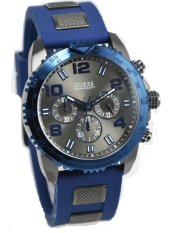 Guess W0599G2 Velocity - Jam Tangan Pria - Rubber - Chronograph - Guess Watch