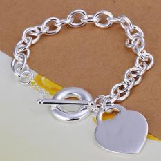 H274 Latest Women Classy Design Silver Plated Bracelet - Intl