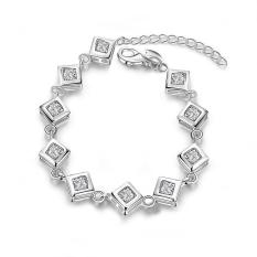 H387 Latest Women Classy Design Silver Pplated Bracelet (Intl)