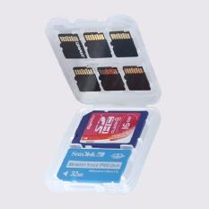 Hard Micro SD SDHC TF MS Memory Card Storage Box Protector Holder Hard Case