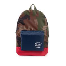 Herschel Packable Daypack Packable - Woodland Camo-Navy-Merah