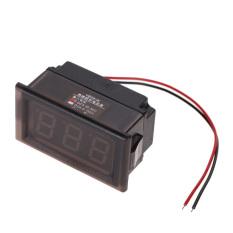 HKS LED Voltmeter Digital Volt Meter Gauge Red (Intl)