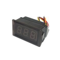 HKS LED Voltmeter Digital Volt Meter Gauge Waterproof Red 0-100V (Intl)