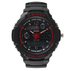 HKS SKMEI S-SHOCK Watch Sport Quartz Wrist Men Mens Analog Digital #S Waterproof Military (Intl)