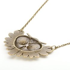 HKS Womens Retro Necklace Owl Pendant Bronze (Intl)