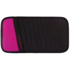 Home Living Sun Visor Cd Mobil - Aksesoris Mobil - Pink