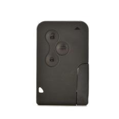 HomeGarden Car Key Card Shell Case + Blade For Renault Megane (Intl)