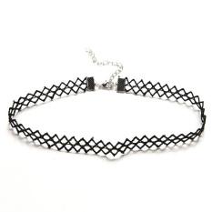 HomeGarden Hot Charm Daisy Flower Choker Chain Bib Collar Statement Lace Necklace Bracelet Wave Necklace (Intl)