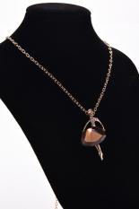 HomeGarden Women Chain Necklace Ballerina Dancer Champagne (Intl)