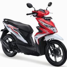 Honda - Beat Sporty CBS ISS - Soul Red White [ Khusus daerah Bogor dan sekitarnya ]