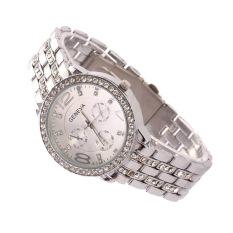 Hot Selling Casual Wristwatch Women Luxury Quartz Watch (Silver) (Intl)