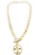 Istana Accessories Paula Chain Fashion Necklace - Gold