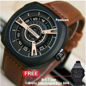 Jam Tangan Pria & Wanita seven.friday - SF4536PW Bahan Tali Kulit / Leather Strap