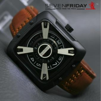 Jam tangan Pria Casual - Leather Strap - Limited Edition- Sevenfiriday JTO fc83187238