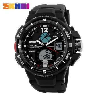 Jam Tangan Sport Pria SKMEI AD1148 Dual Time