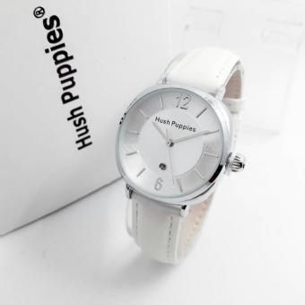 jam tangan wanita model hush-puppies elegan hitam ring gold HS 5562 AR