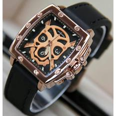 Jam tangan wanita SF Seven ..Friday hitam list rosegold