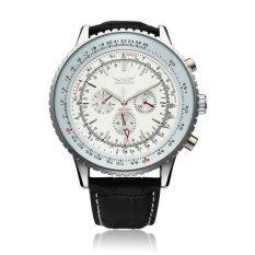 JARAGAR Men Automatic Mechanical Big Dial Multi Number Wrist Watch (Intl)
