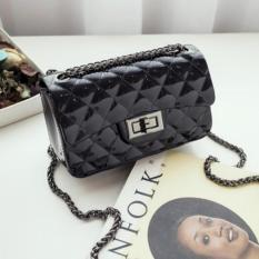 JCF Tas Fashion Anak Remaja Dan Dewasa Silica Jelly Sling Teenager And Adult Mini Candy Bag - Black