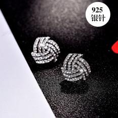 ... tindik telinga baru Lady 925 Perak Source Jepang dan Korea Selatan