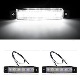 JMS - Lampu LED Daytime Running Light / DRL Mobil / Motor Plasma /6 LED