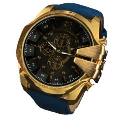 Jo.In Big Dial Stainless Steel Sport Analog Casual Quartz Men Wrist Watch (Black)