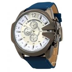 Jo.In Men Casual Watch Wristwatch Alloy Analog Quartz Watch (Blue)