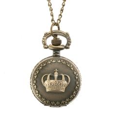 Jo.In Steampunk Quartz Necklace Pendant Chain Clock Pocket Watch (Multicolor)