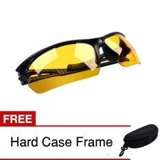 Kacamata Anti Silau / Night Driving / Riding Glasses - Sport Edition