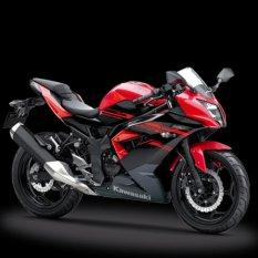 Kawasaki Ninja 250SL [Merah /Abu-abu] JADETABEK--Uang Muka Cicilan
