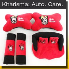 Kharisma Car Set Bantal Mobil Boneka Miki Mouse 3 in 1 (CS3)