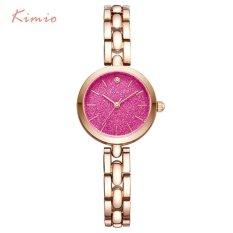 KIMIO Fashion Colorful Stars Shine Dial Women Bracelet Watch Women's Wristwatch Rose Gold Quartz Womens Watches Top Brand Clock - intl
