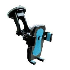 Klikoto Phone Holder / Tempat HP Mobil Universal - Biru