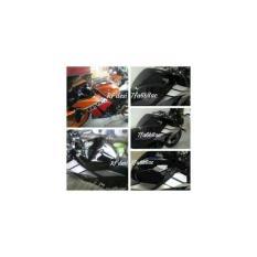 RDR Cover - Tutup - Jalu - Bandul as roda depan CBR 250 1505 merah .